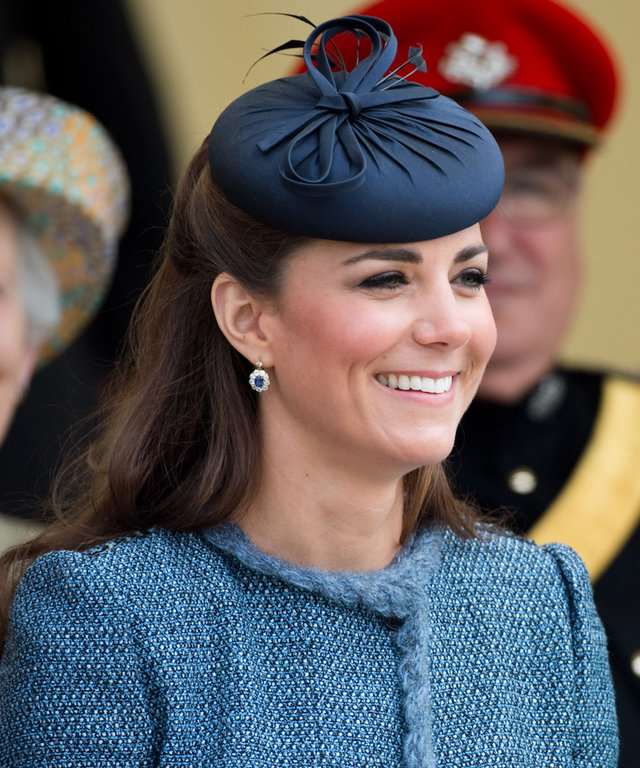 Kate Middleton and Queen Elizabeth lead