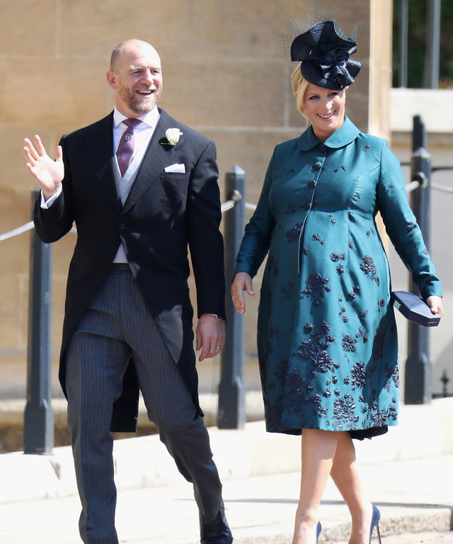 Zara and Mike Tindall lead