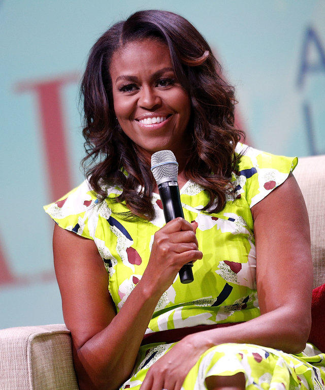 Michelle Obama Discusses Her New Memoir At American Library Assn Conference