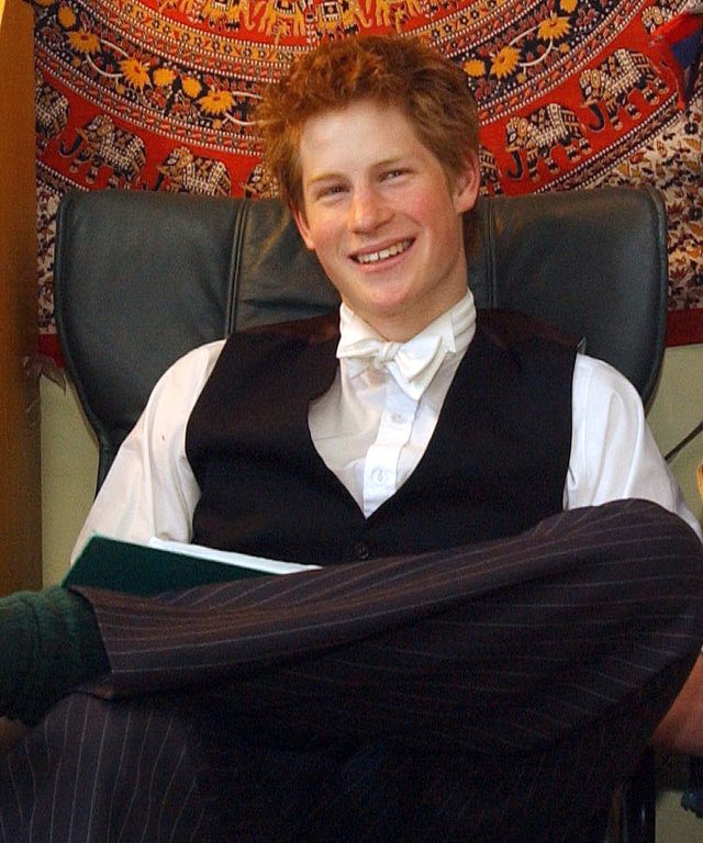 Prince Harry at Eton