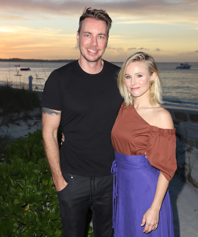 Kristen Bell Dax Shepard In Turks and Caicos