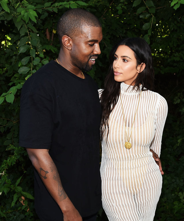 Kim and Kanye West lead