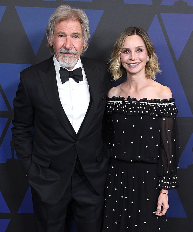 Harrison Ford and Calista Flockhart lead