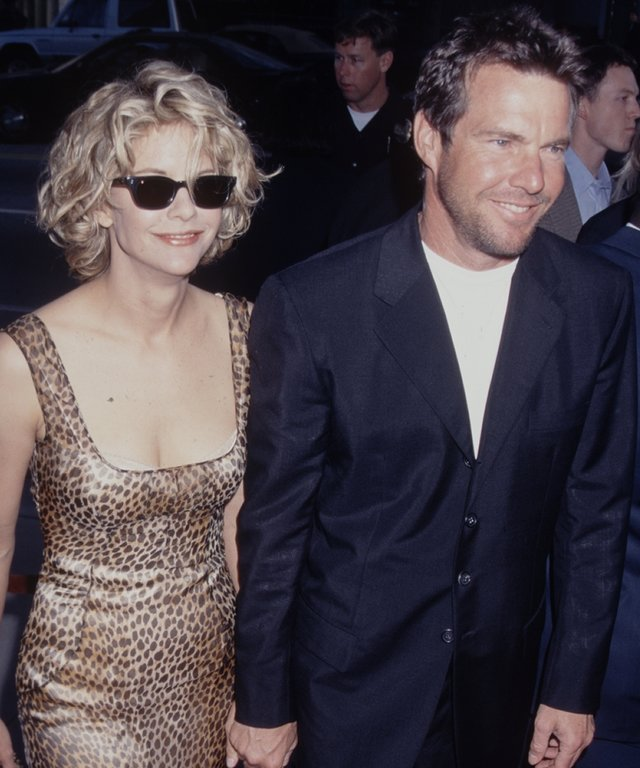 Dennis Quaid and Meg Ryan