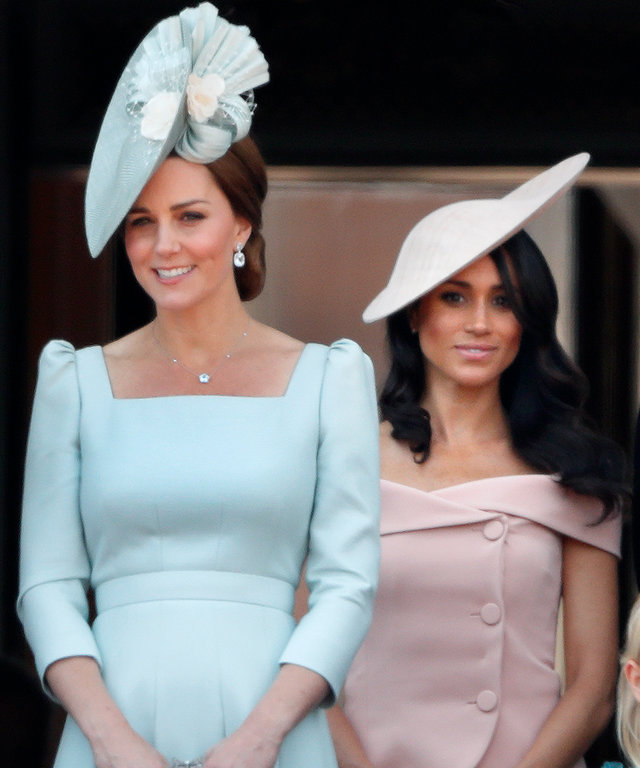 Meghan Markle and Kate Middleton lead