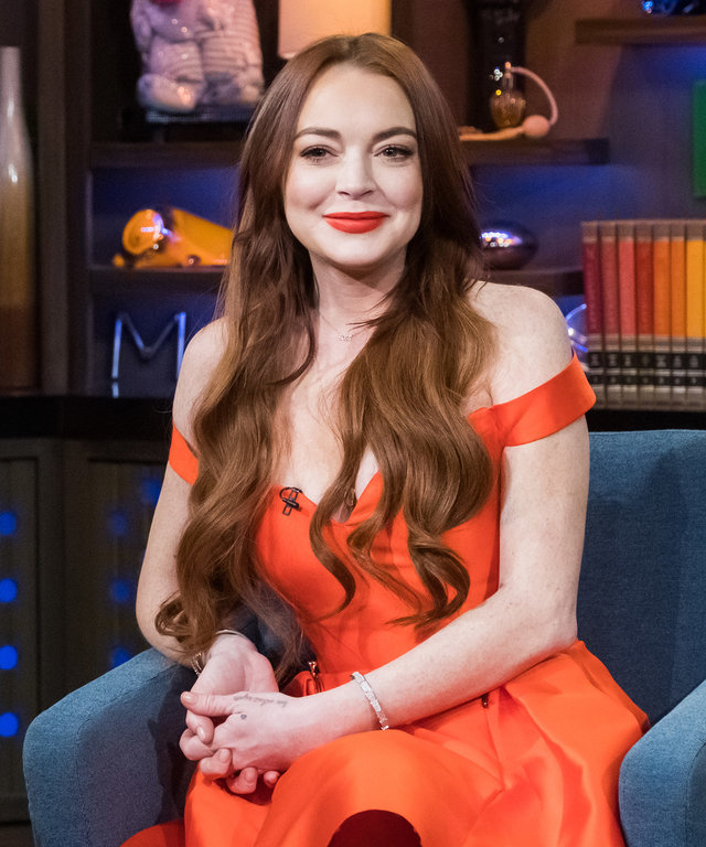 Lindsay Lohan Watch What Happens Live With Andy Cohen