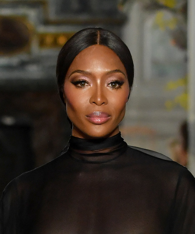 Naomi Campbell Valentino Haute Couture Spring Summer 2019