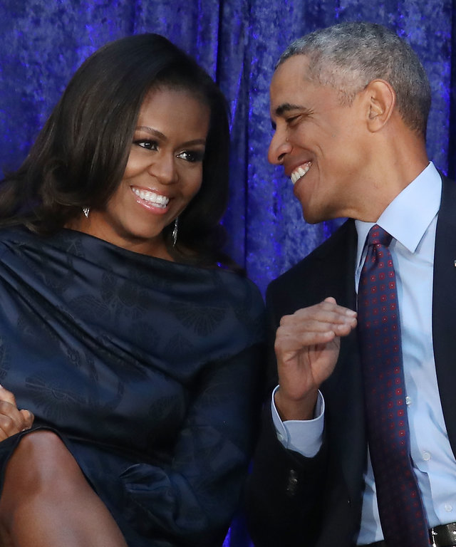 Barack And Michelle Obama Portrait Unveiling Portrait Gallery
