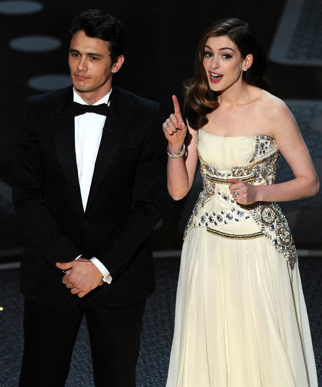 Anne Hathaway James Franco 83rd Annual Academy Awards - Show