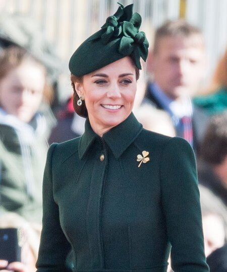 cab81ac1a The Duke And Duchess Of Cambridge Attend The Irish Guards St Patrick's Day  Parade