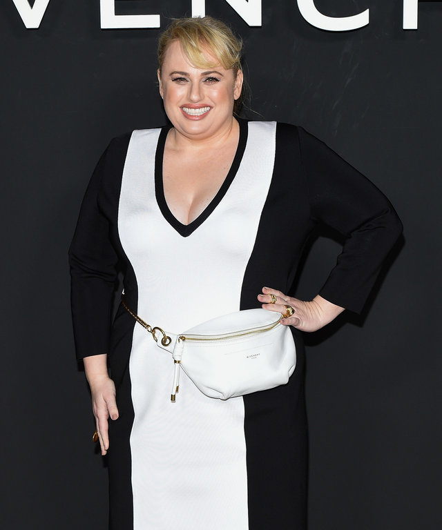Rebel Wilson Givenchy : Front Row - Paris Fashion Week Womenswear Fall/Winter 2019/2020