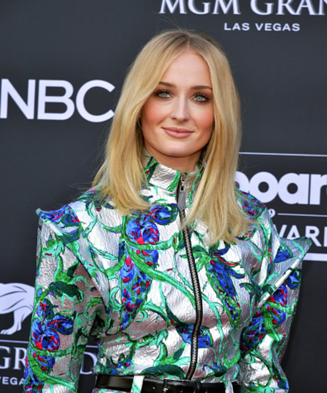 LAS VEGAS, NV - MAY 01:  Sophie Turner attends the 2019 Billboard Music Awards at MGM Grand Garden Arena on May 1, 2019 in Las Vegas, Nevada.  (Photo by Amy Sussman/FilmMagic)