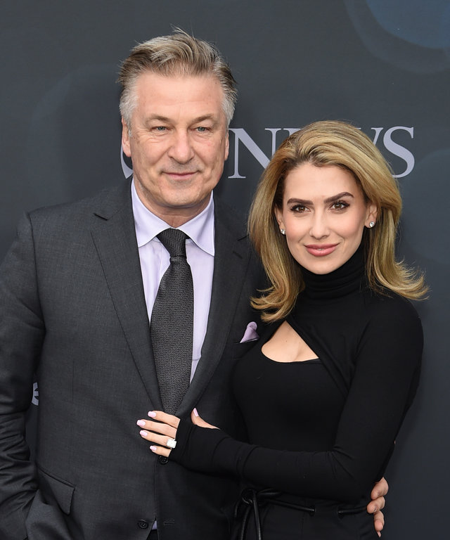 NEW YORK, NEW YORK - MAY 14: Alec Baldwin and Hilaria Baldwin attend the ABC Walt Disney Television Upfront on May 14, 2019 in New York City. (Photo by Jamie McCarthy/Getty Images)