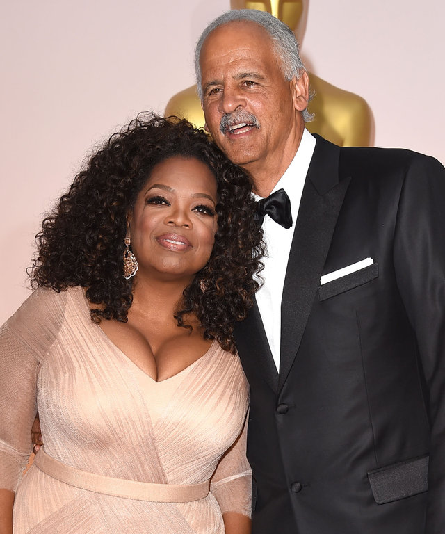 HOLLYWOOD, CA - FEBRUARY 22:  Oprah Winfrey and Stedman Graham arrives at the 87th Annual Academy Awards at Hollywood & Highland Center on February 22, 2015 in Hollywood, California.  (Photo by Steve Granitz/WireImage)