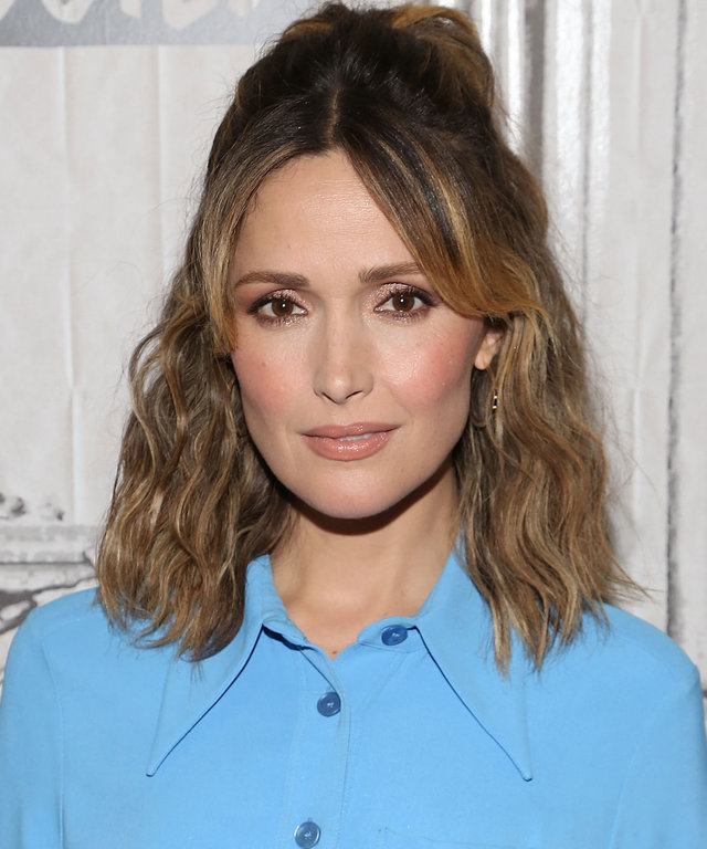 Rose Byrne Platinum Blonde