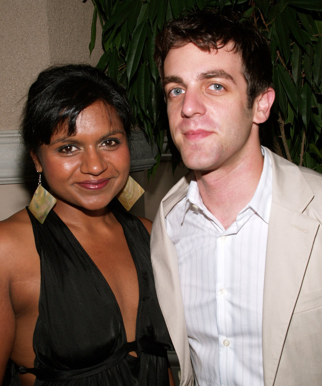 Mindy Kaling and B.J. Novak at the 2006 TCA Awards Show