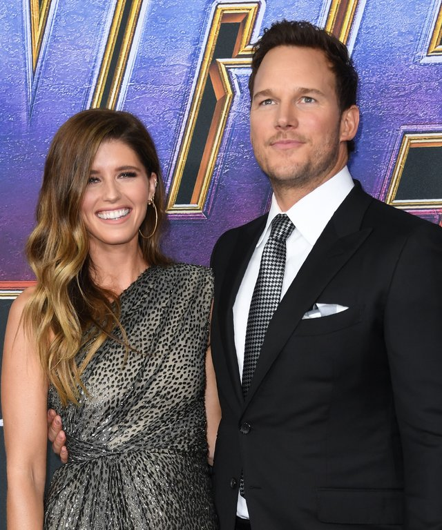 US actor Chris Pratt and US author Katherine Schwarzenegger arrive for the World premiere of Marvel Studios'  Avengers: Endgame  at the Los Angeles Convention Center on April 22, 2019 in Los Angeles. (Photo by VALERIE MACON / AFP)        (Photo credit...
