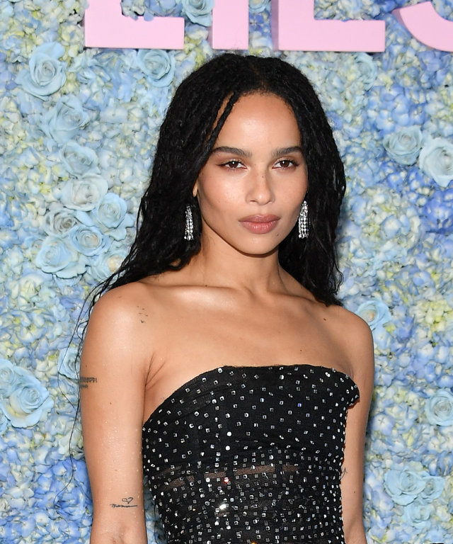 NEW YORK, NEW YORK - MAY 29: Zoe Kravitz attends the  Big Little Lies  Season 2 Premiere at Jazz at Lincoln Center on May 29, 2019 in New York City. (Photo by Dia Dipasupil/Getty Images,)