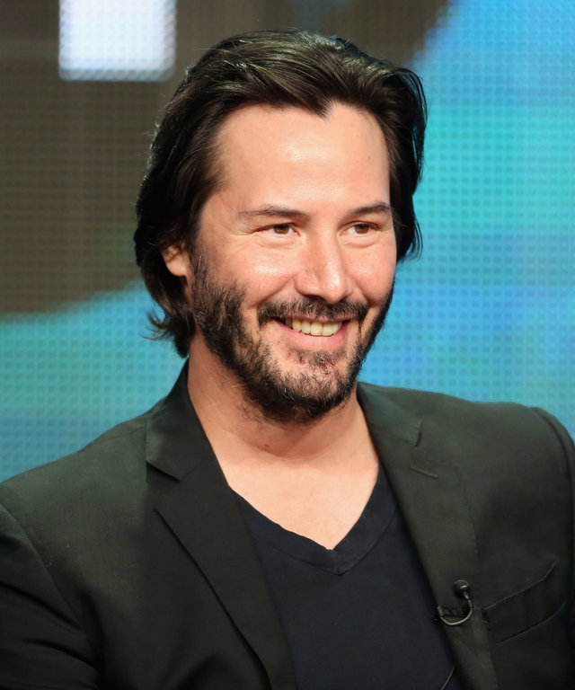 BEVERLY HILLS, CA - AUGUST 06:  Host/producer Keanu Reeves speaks onstage during the  Side by Side  panel at the PBS portion of the 2013 Summer Television Critics Association tour at the Beverly Hilton Hotel on August 6, 2013 in Beverly Hills,...