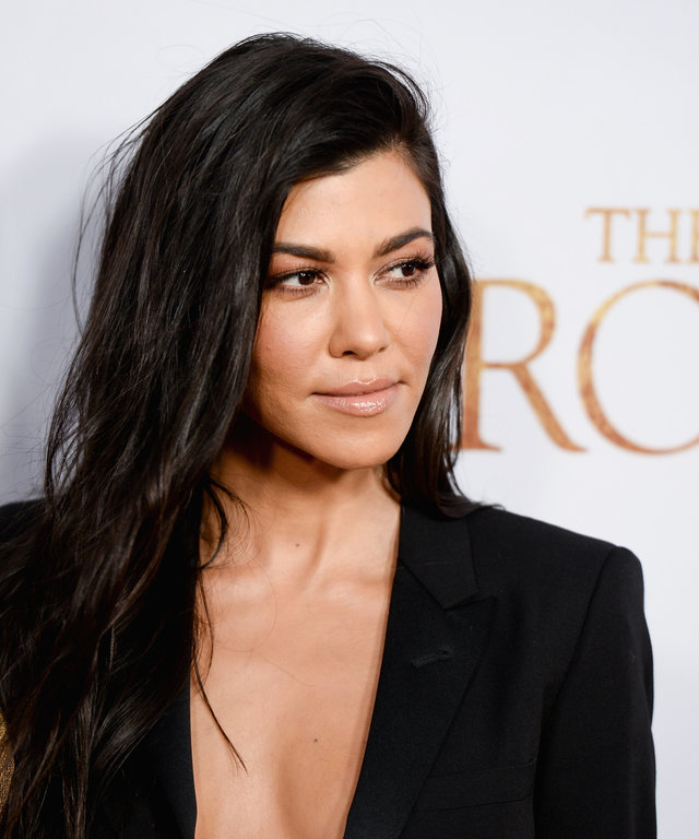 HOLLYWOOD, CA - APRIL 12:  Kourtney Kardashian arrives to the Los Angeles premiere of 'The Promise' at TCL Chinese Theatre on April 12, 2017 in Hollywood, California.  (Photo by Tara Ziemba/Getty Images)