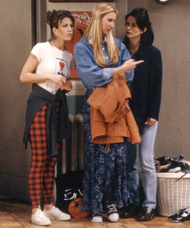 Shoppable Friends Outfits