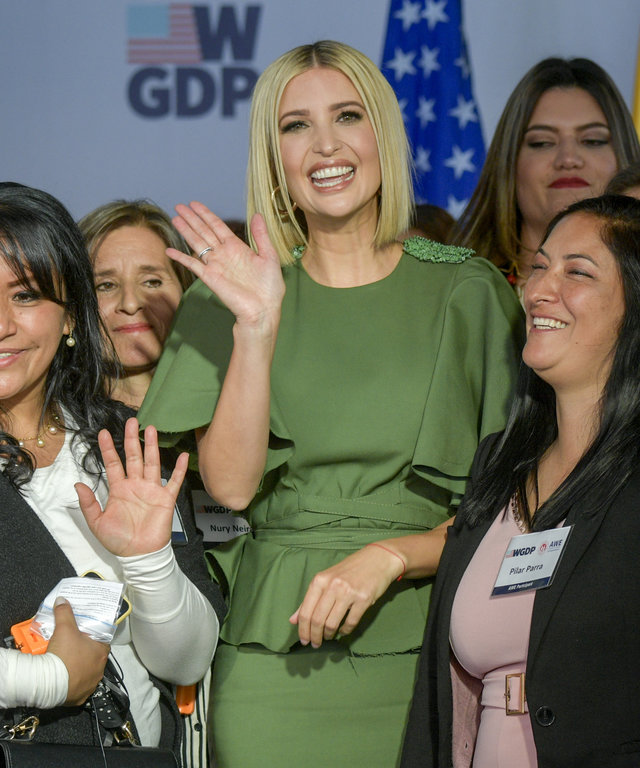 COLOMBIA-US-IVANKA TRUMP