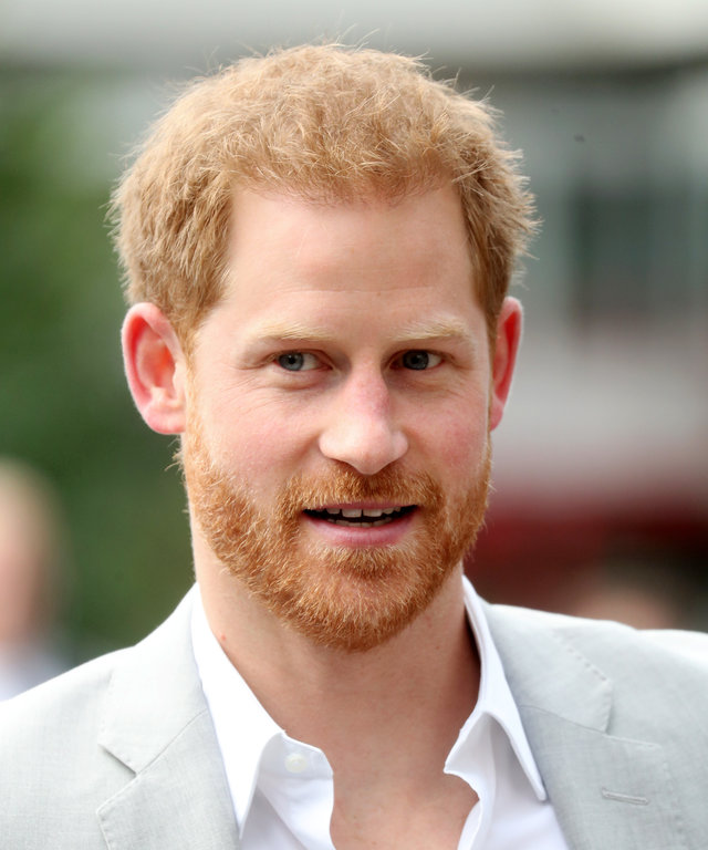 AMSTERDAM, NETHERLANDS - SEPTEMBER 03: Prince Harry, Duke of Sussex arrives in Amsterdam to announce a partnership between Booking.com, SkyScanner, CTrip, TripAdvisor and Visa at A'dam Tower on September 03, 2019 in Amsterdam, Netherlands. The...