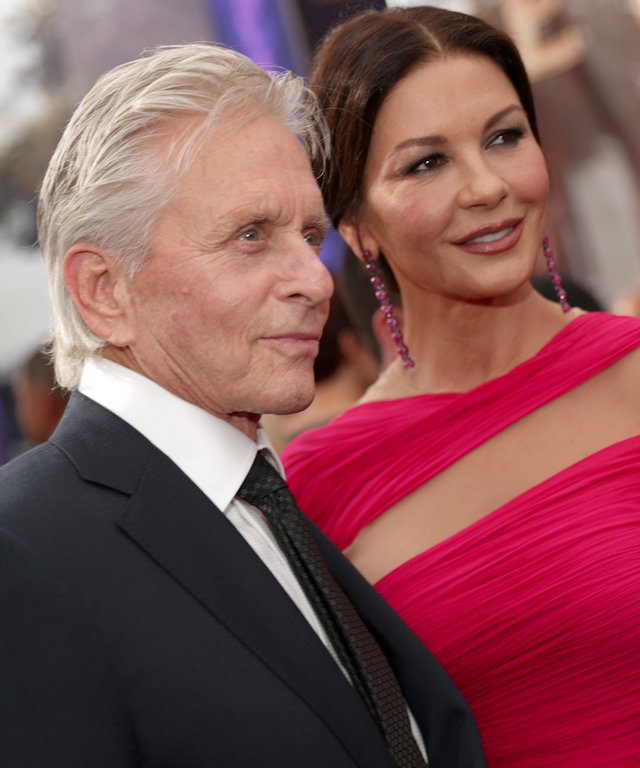 Michael Douglas Catherine Zeta-Jones Emmys