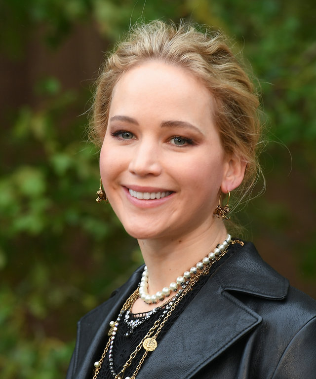 Jennifer Lawrence Dior Paris Fashion Week