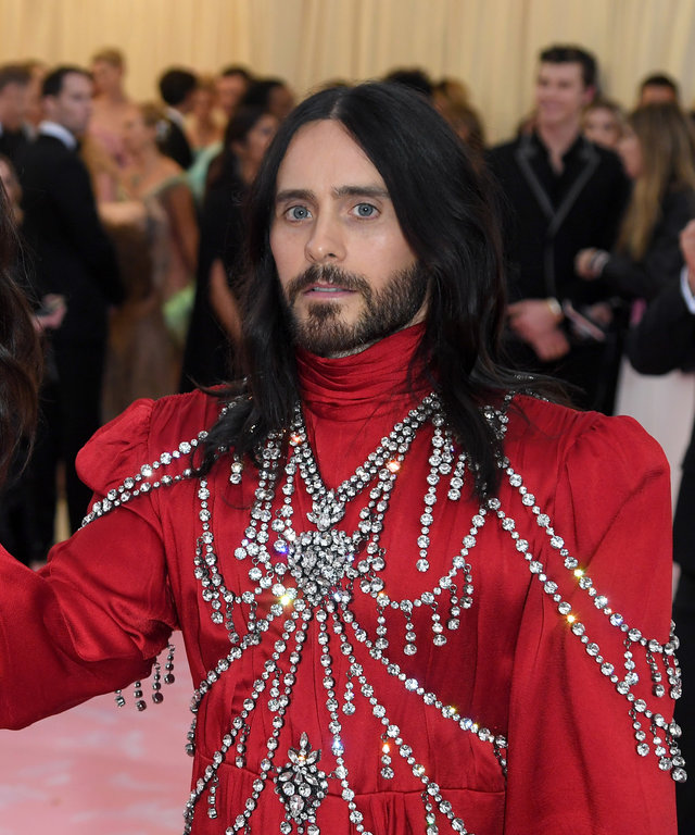 Jared Leto 2019 Met Gala Celebrating Camp: Notes On Fashion