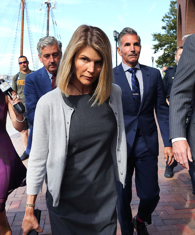 Lori Loughlin guilty plea sentence fine