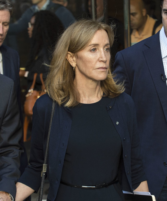Felicity Huffman Court Appearance