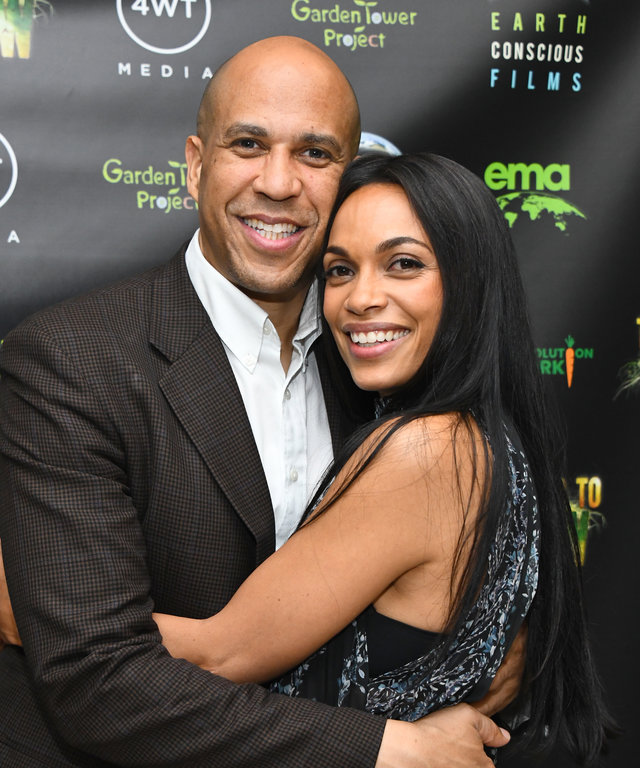 Rosario Dawson Cory Booker  The Need To GROW