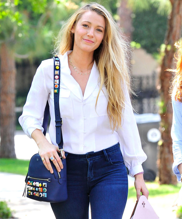 Blake Lively Old Navy