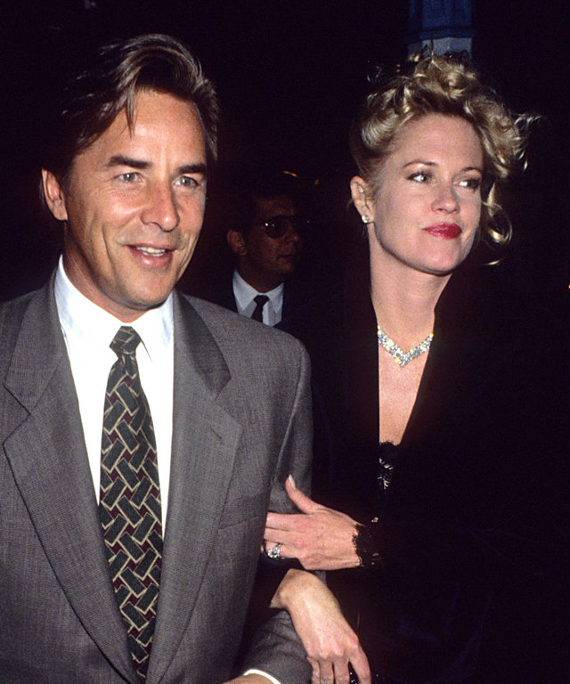TBT: Don Johnson and Melanie Griffith