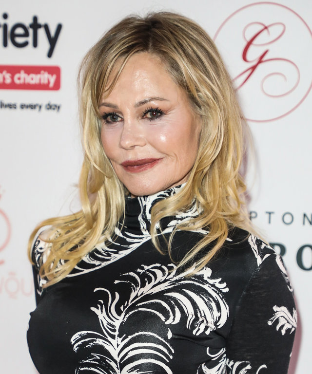 Melanie Griffith attends the Global Gift Gala