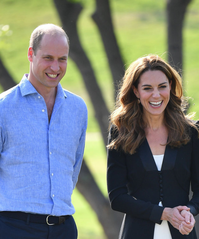 Kate Middleton Prince William Christmas Lunch
