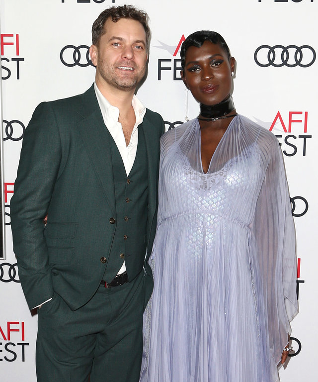 Joshua Jackson and Jodie Turner-Smith at the Queen & Slim Premiere