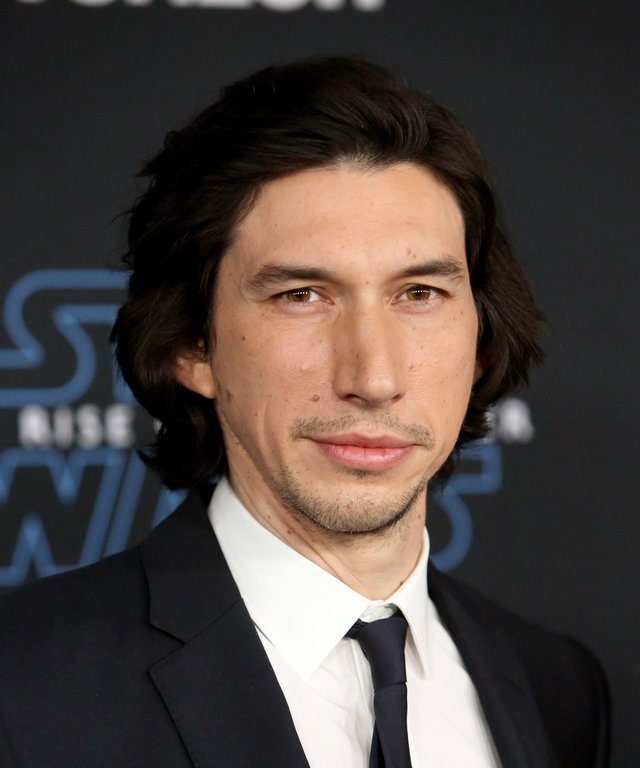 Adam Driver Premiere Of  Star Wars: The Rise of Skywalker