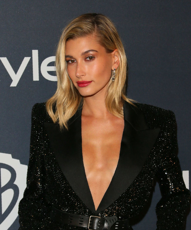 Hailey Bieber 2020 InStyle & Warner Bros. Golden Globes After Party