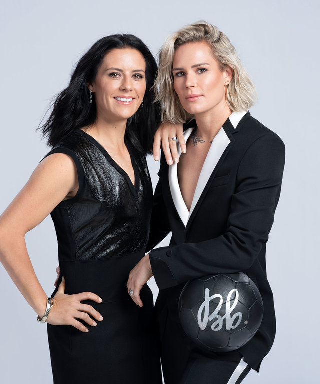 Ashlyn Harris Ali Krieger Bumble and Bumble Campaign