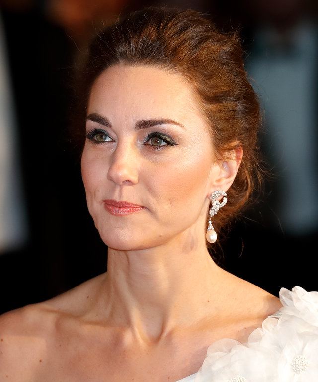 Kate Middleton  EE British Academy Film Awards - Red Carpet Arrivals