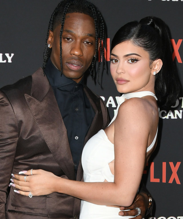 Kylie Jenner Travis Scott at  Travis Scott: Look Mom I Can Fly  premiere