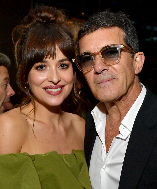 Dakota Johnson and Antonio Banderas - The Hollywood Foreign Press Association And The Hollywood Reporter Party At 2019 Toronto International Film Festival