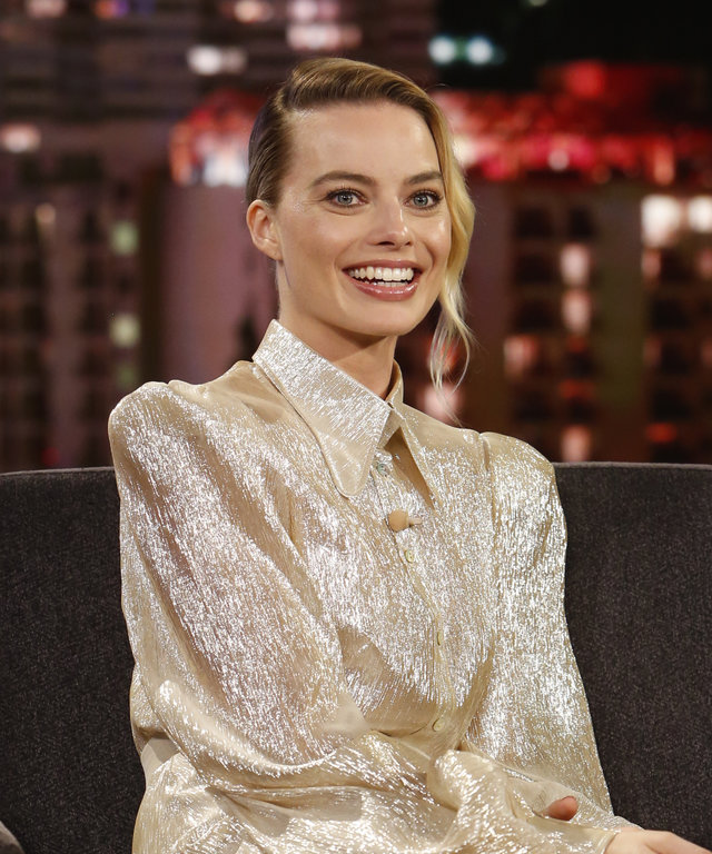 Margot Robbie ABC's  Jimmy Kimmel Live