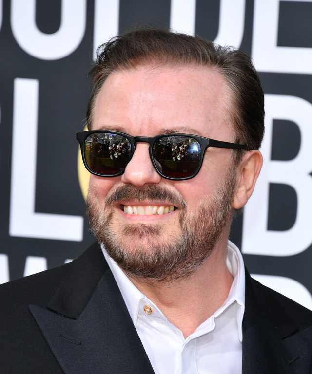 Ricky Gervais 2020 Golden Globe Awards - Arrivals