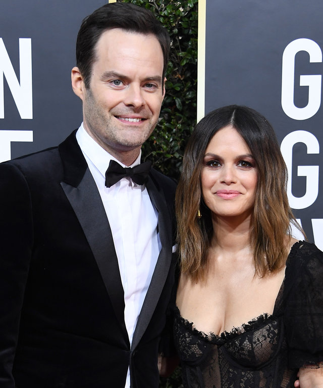 Bill Hader and Rachel Bilson 77th Annual Golden Globe Awards - Arrivals