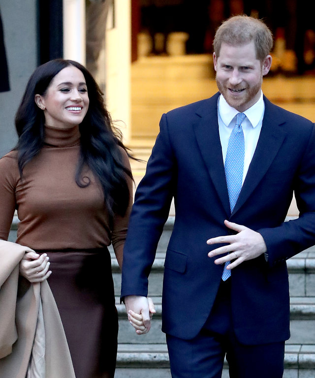 Meghan Markle Prince Harry Stepping Back