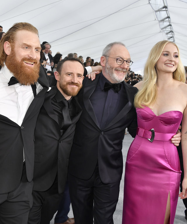 Game of Throne Screen Actors Guild Awards - Red Carpet