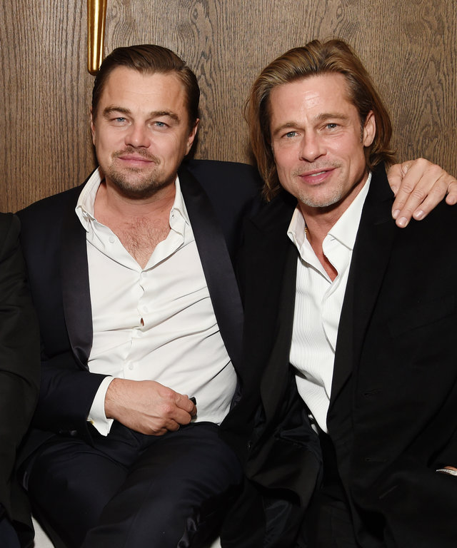 Brad Pitt Al Pacino Leonardo DiCaprio Netflix SAG After Party